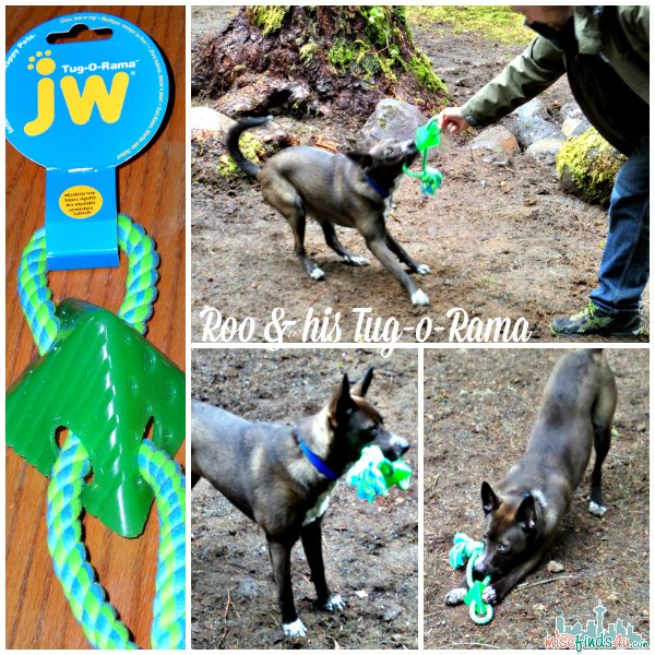 JW Tug-o-Rama Dog Toy - ad