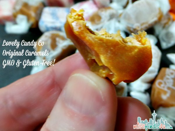 Lovely Candy Co Original Caramels - ad