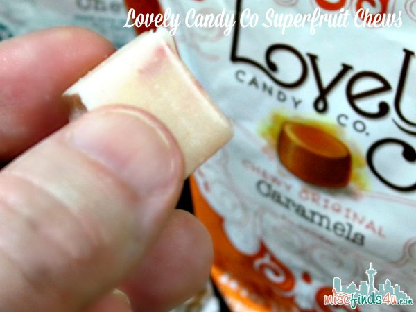 Lovely Candy Co Superfruit Chews - Gluten and GMO-free ad