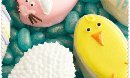 Easter Lemon Cake Recipe with Poured Fondant and Frosting