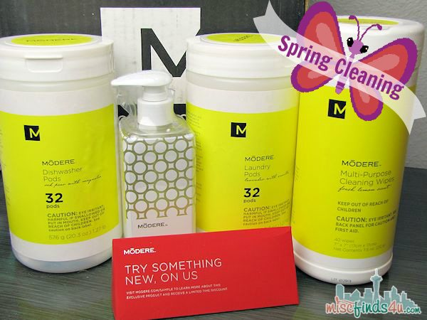 Modere Natural Cleaning Products - Modere Household Collection #MC