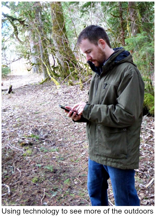 Hiking with the Nokia Lumia Icon Smartphone -Great outdoor apps to track where you are and where you're going. ! #VZWbuzz