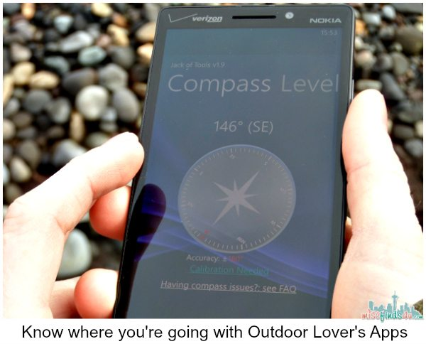 Get outdoors with your Nokia Lumia Icon - Use apps to track where you're going and what you've seen. #VZWbuzz