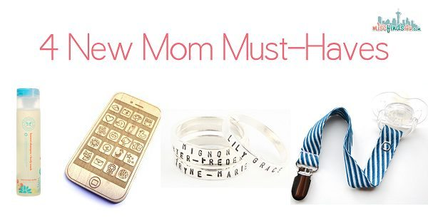 Mommy Diaries: 4 Must-Have Products for New Moms