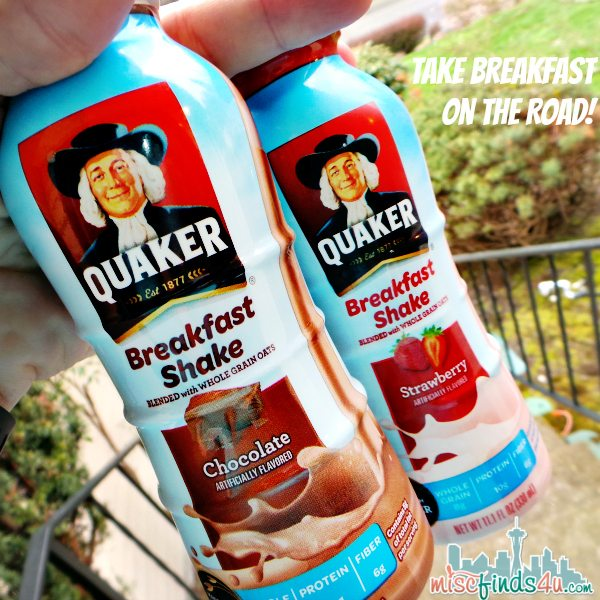 Quaker Breakfast Shakes - Take It On the Road!