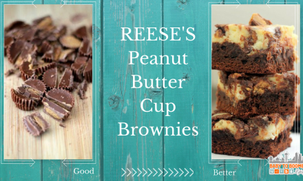 Easter Recipes: Peanut Butter Cup Cheesecake Brownies