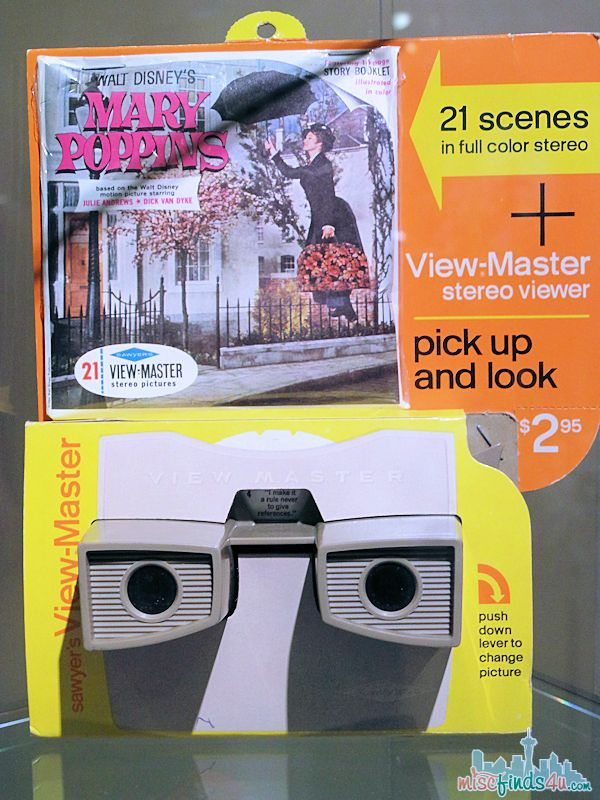 Saving Mr Banks Walking Tour - Mary Poppins 1960 Products - View-Master