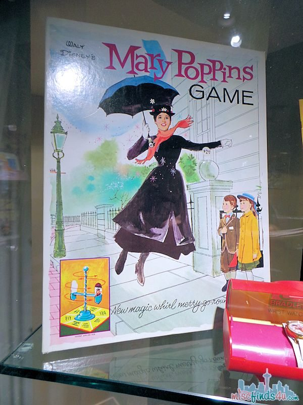 Saving Mr Banks Walking Tour - Mary Poppins 1960 Products - game