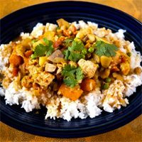 Slow Cooker Chicken Curry by Skinny Ms