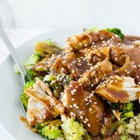 Slow Cooker Sesame Chicken by Cooking Ala Mel