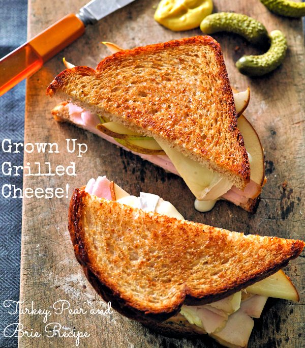 Turkey, Pear and Brie Recipe