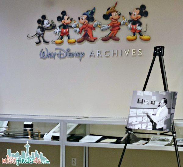 Walt Disney Archives Tour - ad #piratefairybloggers