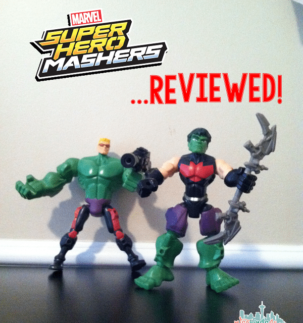 Fun with Marvel Super Hero Mashers