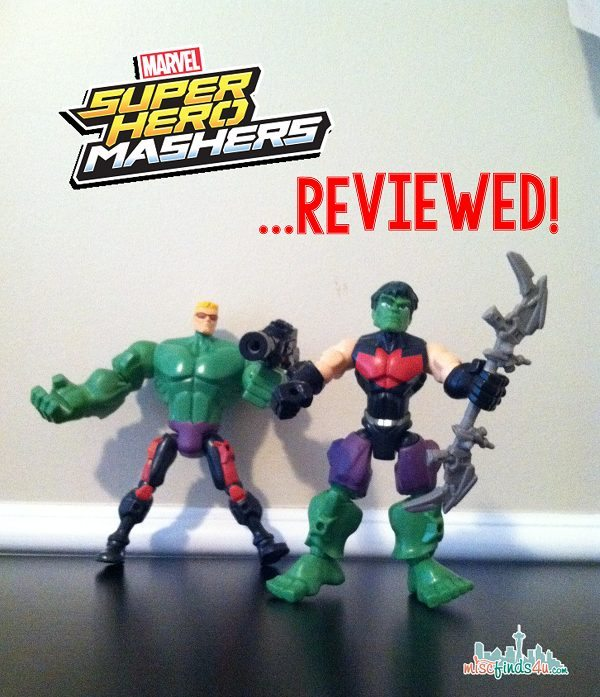 Marvel Super Hero Mashers action figures - ad