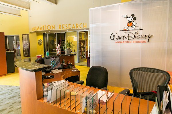 Look Inside the Disney Animation Research Library