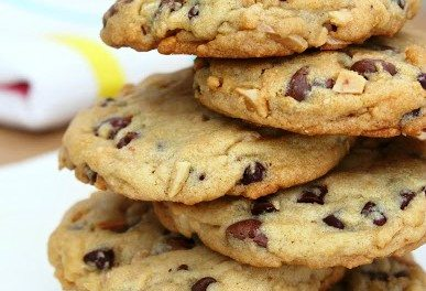 Homemade Almond Chocolate Chip Cookie Recipe