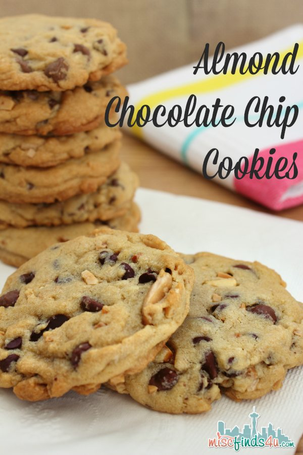 Best Almond Chocolate Chip Cookie Recipe