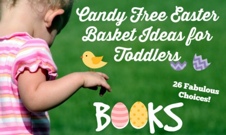 Candy Free Easter Basket Ideas for Toddlers: Books!