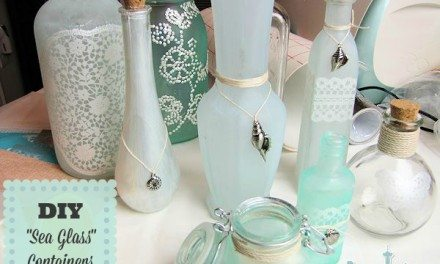 DIY Projects: Sea Glass Tutorial – Make Your Own Beach Decor