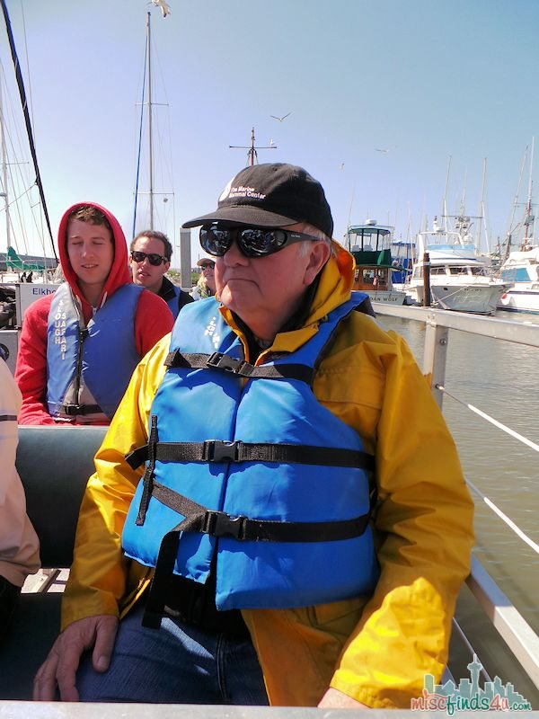 ELKHORN SLOUGH SAFARI GUIDED NATURE BOAT TOUR - boaters