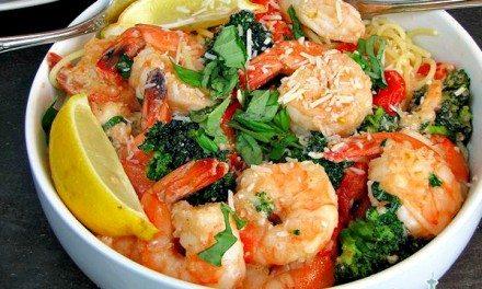 Dinner Ideas – Easy Garlic Shrimp and Broccoli Pasta