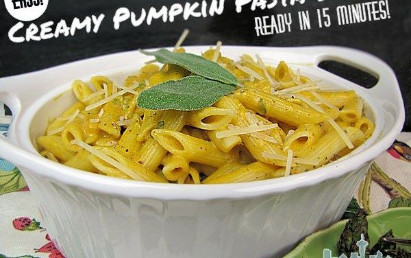 Recipes for Pumpkin – Creamy Pasta Sauce