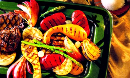 Easy Grilled Vegetables with Homemade Vinaigrette