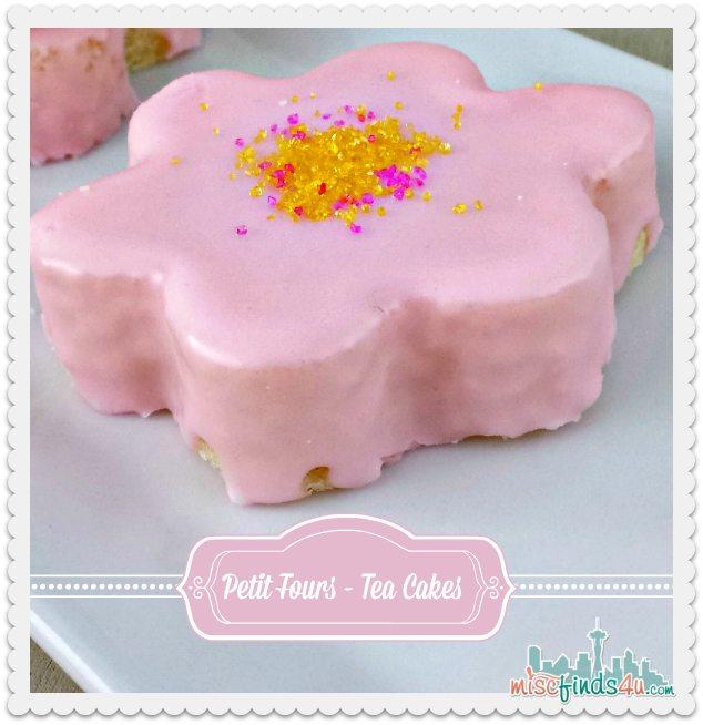 Pound Cake Petit Fours – Easy Daisy Tea Cakes