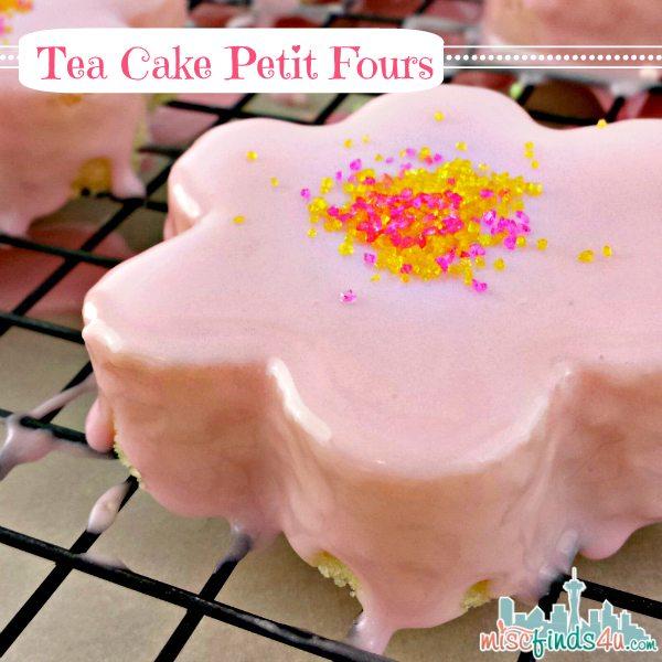 Homemade Pound Cake Petit Fours Easy Daisy Tea Cakes For