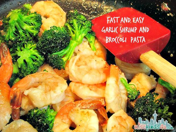 Shrimp and broccoli pasta recipes easy