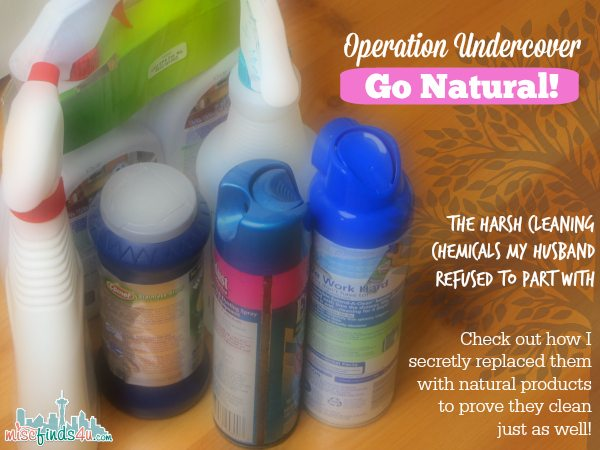 Go Natural - Choose Products that Work but Do not Harm the Earth