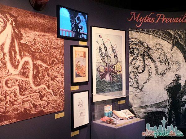 Monterey Aquarium Tentacles Exhibit - Myths
