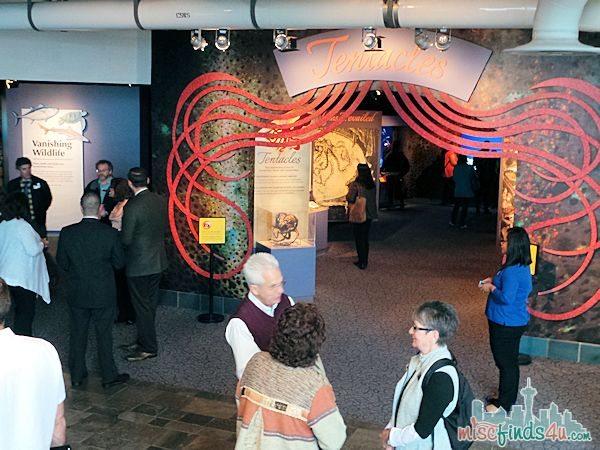 Monterey Aquarium Tentacles Exhibit - New Monterey Aquarium