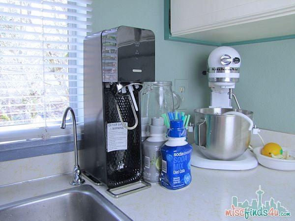 My Sodastream home soda pop maker - ad