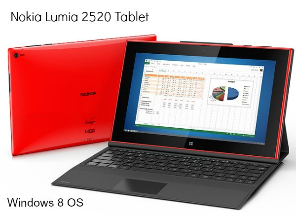 Nokia Lumia 2520 Tablet – Lightweight Design and Windows 8 OS