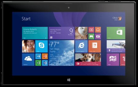 Nokia Lumia 2520 Windows OS