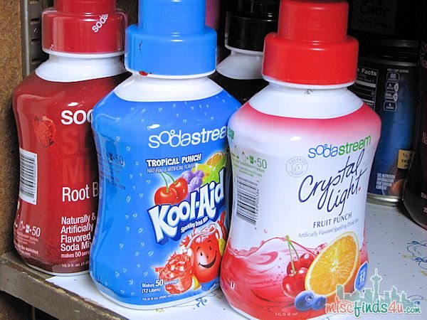 Soda Stream - assorted flavors - ad