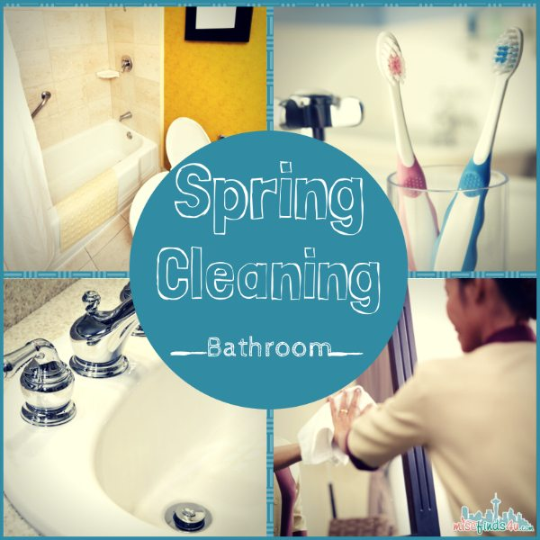 Spring Cleaning Bathroom Tips