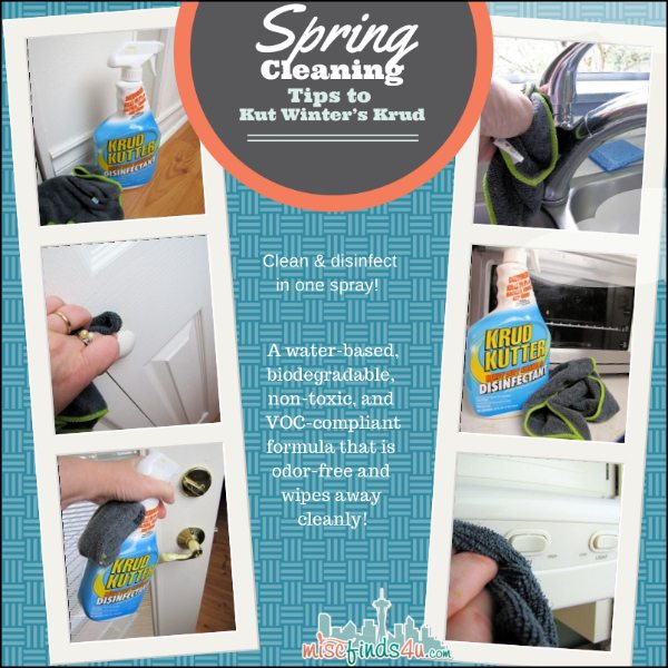Spring Cleaning Tips to Cut Winters Crud