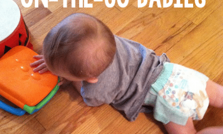 Record-Breaking Diaper Changes with Huggies Little Movers Slip-On Diapers #MC