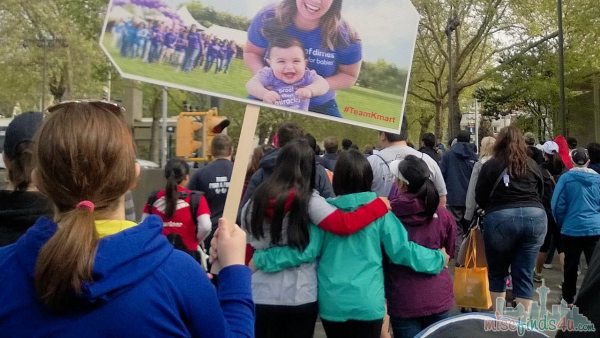 A sea of walkers -  March of Dimes: Seattle and Greater PS 2014 Walk #TeamKmart #MC #sponsored