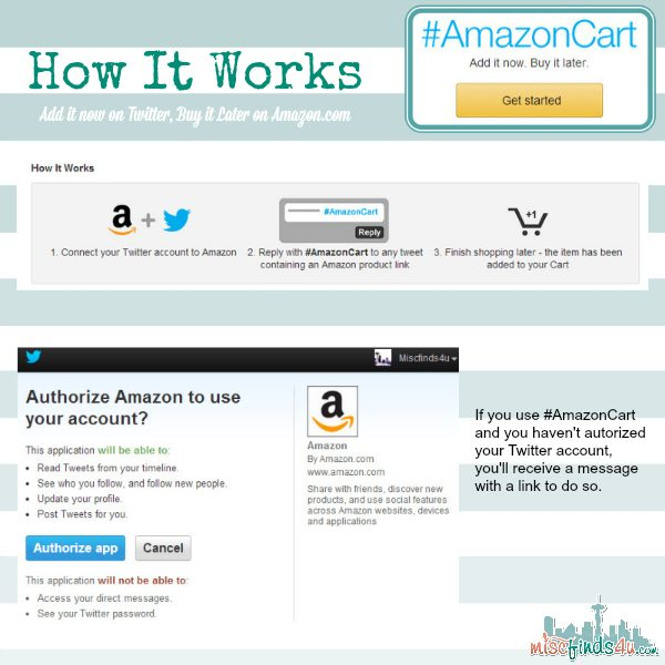 AmazonCart - How to Set Up Your Account #AmazonCart #cbias #shop