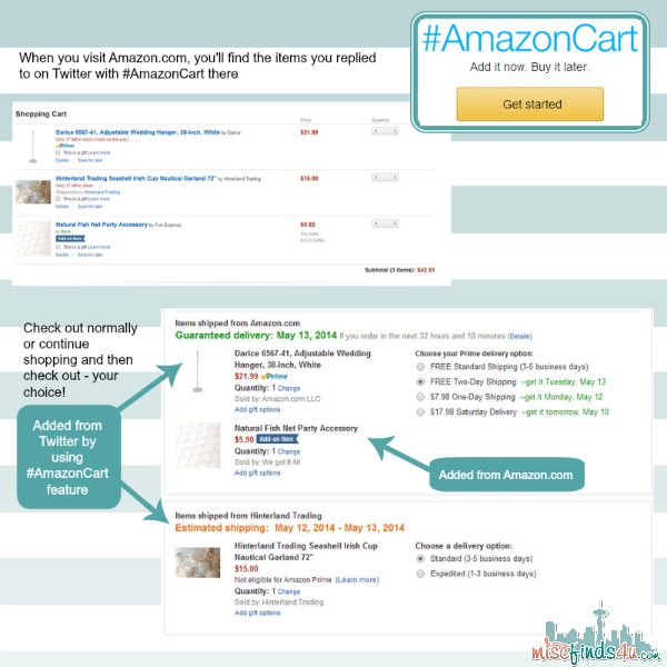 AmazonCart - Quick Tutorial and Overview on How it Works #AmazonCart #cbias #shop