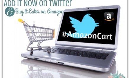 AmazonCart: Add It Now on Twitter, Buy it Later on Amazon