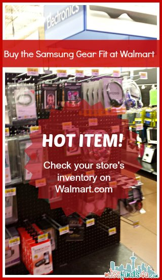 Buy the Samsung Gear Fit at Walmart - #CollectiveBias #shop