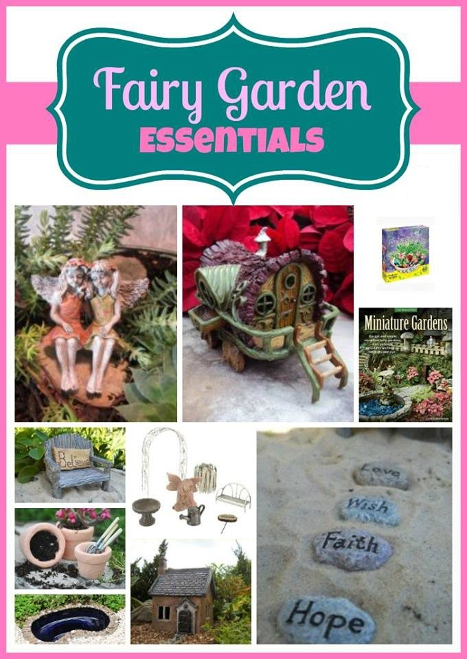 Fairy Garden Essentials - where to buy minitures