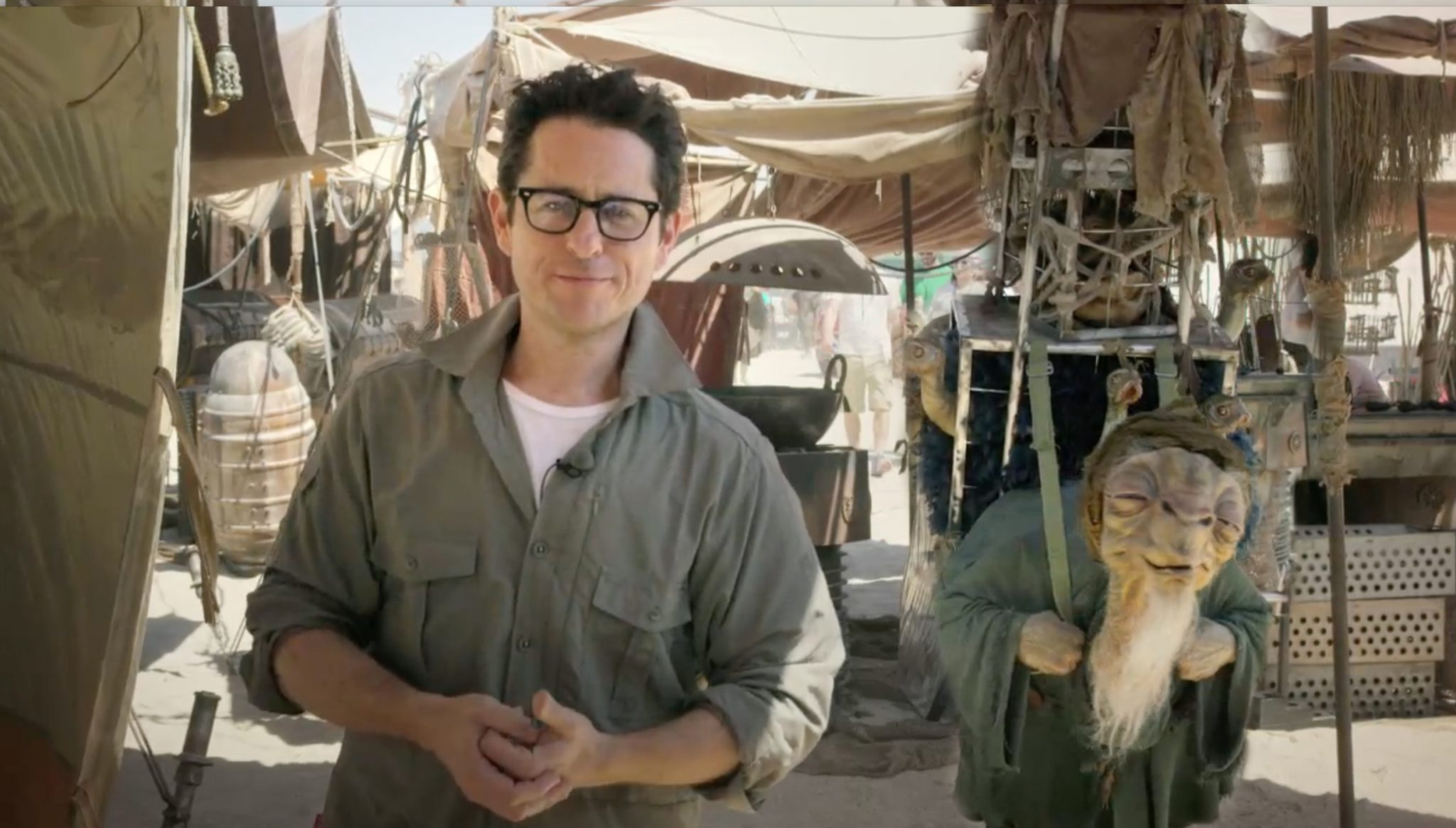 Star Wars: Episode VII, director J.J. Abrams announced the creation of Star Wars: Force for Change, a brand new Star Wars initiative from Disney and Lucasfilm in collaboration with Bad Robot dedicated to finding creative solutions to some of the world's biggest problems