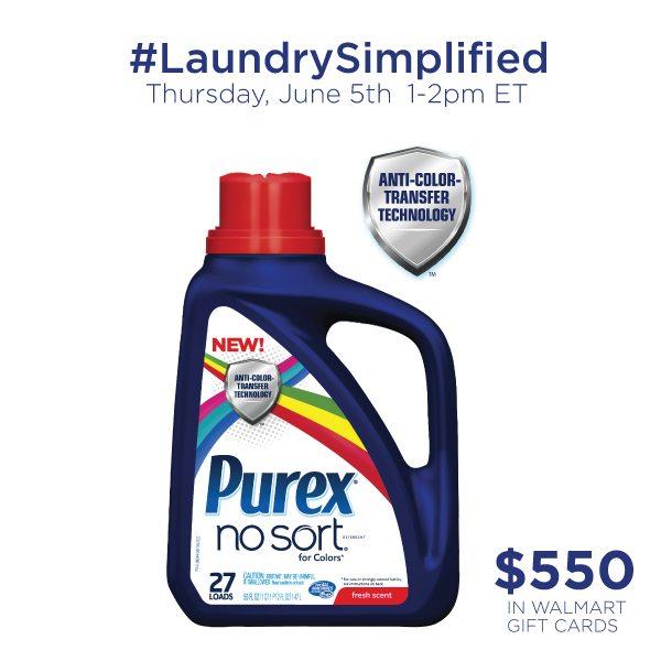 RSVP: #LaundrySimplified Twitter Party 6/5  Prizes! #shop #cbias