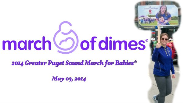 March of Dimes: Seattle and Greater PS 2014 Walk #TeamKmart #MC #sponsored