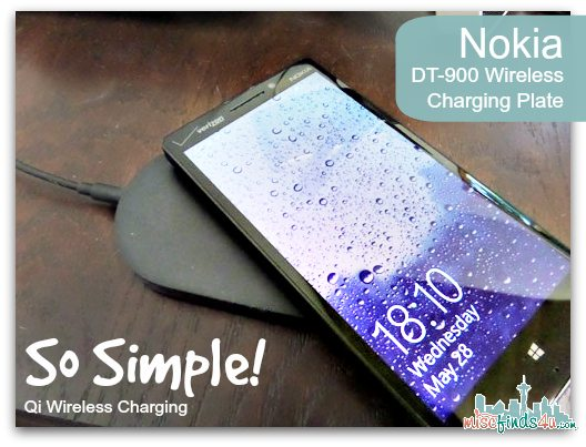 Nokia Qi Wireless Charger - DT900 #VZWbuzz ad